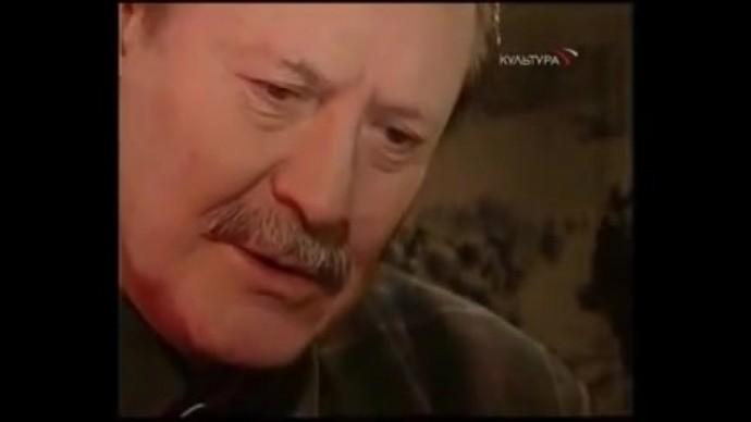 """Юрий Соломин. """"Ты помнишь, Алёша,дороги Смоленщины..."""""""